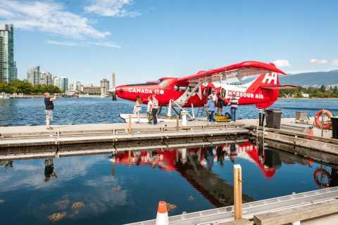 Tour panorámico en hidroavión sobre Vancouver