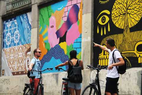 Madrid: Street Art Bike Tour