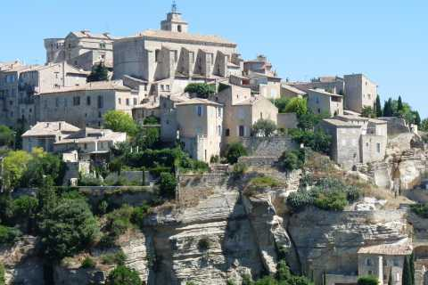 From Marseille Port: Shared Luberon Villages Excursion