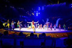 Excursão noturna internacional ao circo de Guangzhou Chimelong