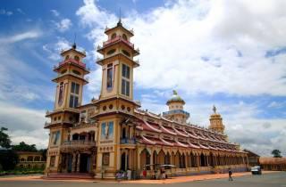 Private Tour zum Cao Đài Tempel und Cu Chi Tunnels