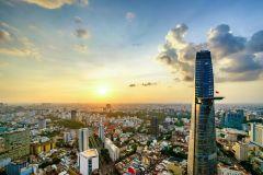 Torre financeira Bitexco: Saigon Sky Deck - ingresso Fast Track