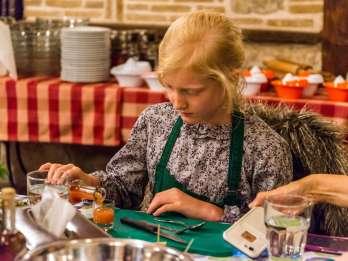 Athen: Griechischer Kochkurs & 3-Gänge Abendessen