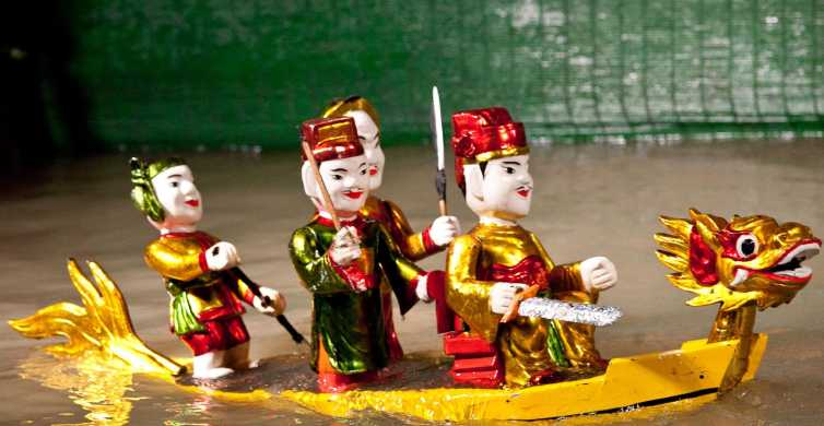 Ho Chi Minh: Water Puppet Show Ticket with Hotel Delivery