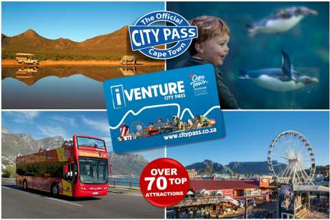Cape Town: 3 or 5 Top Attractions and Experiences Pass