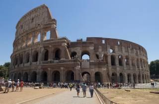 Rom: Ganztägiges Spezial Kombi Fahrradverleih plus Kolosseum