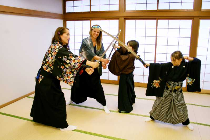 Samurai Training Experience Tokyo Japan Getyourguide