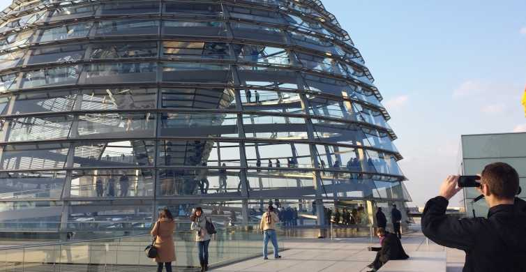 Walking Tour in German: Gov. District & Reichstag with Dome