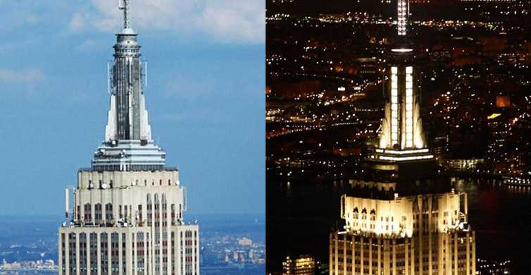 NYC: Empire State Building AM/PM Experience Ticket
