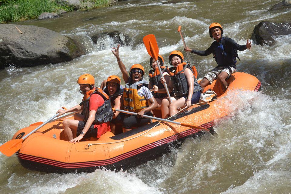 Rafting po rzece Ayung