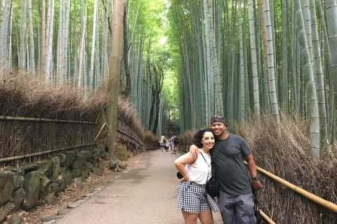 Kyoto: Arashiyama Bamboo Forest Walking Food Tour