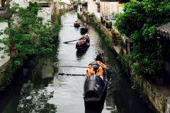 Shaoxing Ancient Town Day Tour com almoço de Hangzhou