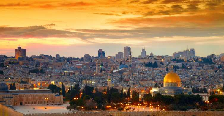 Tour di Gerusalemme, Mar Morto e Betlemme
