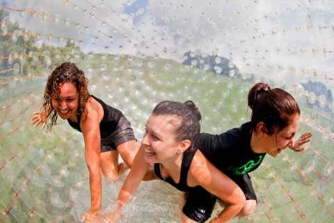 Rotorua: ZORB Inflatable Ball Rides