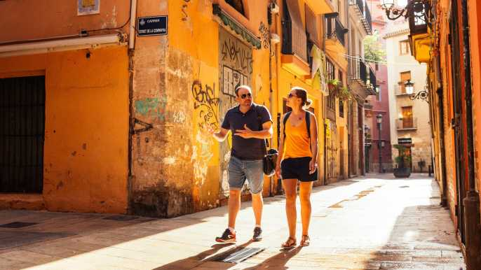 Valencia: Old City Private or Small Group Walking Tour