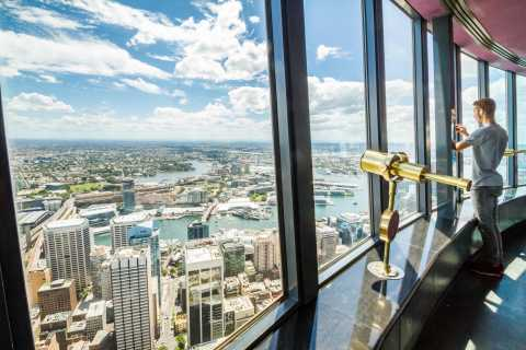 Sydney Attraction Pass: Sydney Tower Eye, Aquarium & More