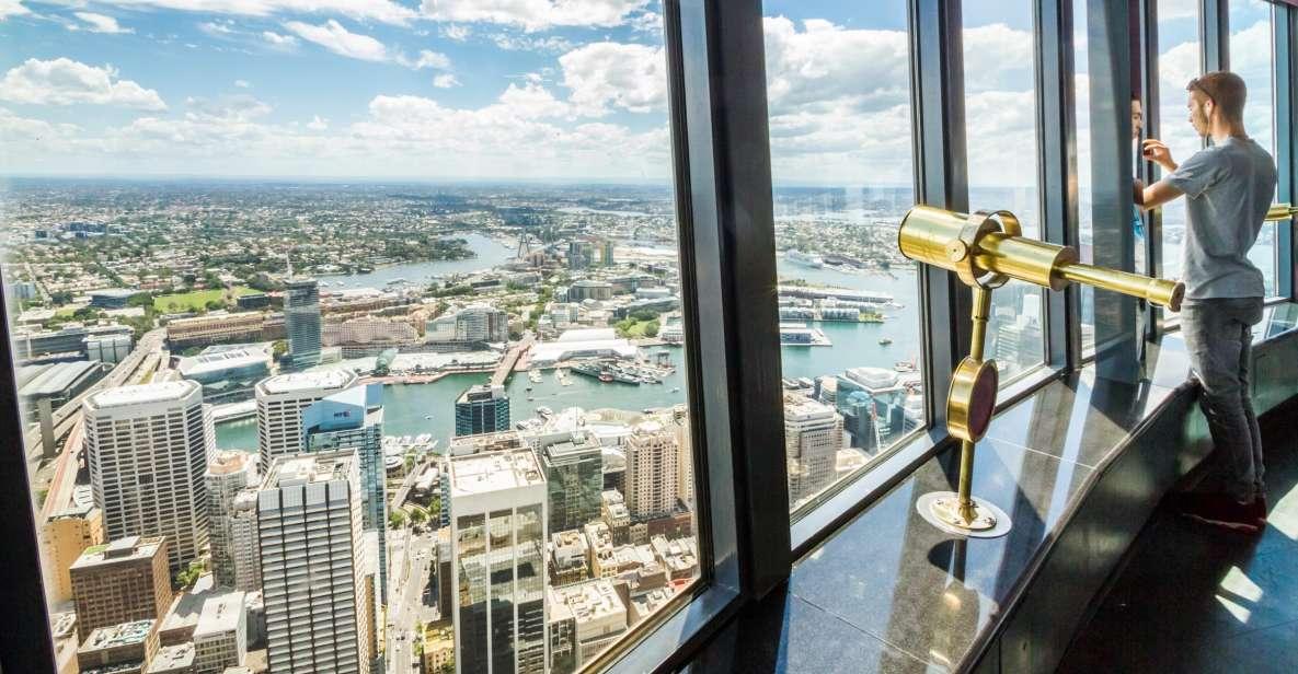 Sydney Attraction Pass: Sydney Tower Eye, Aquarium & More