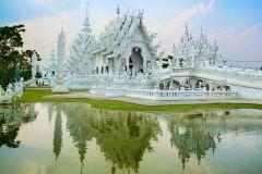De Chiang Mai: Excursão Templo Branco e Triângulo Dourado