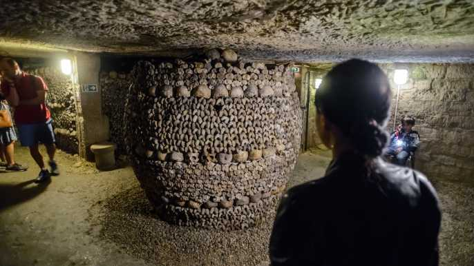 Paris Catacombs Skip-the-Line Ticket with Audio Guide
