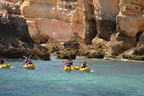 Albufeira: Algarve Kayak and Coastline Tour