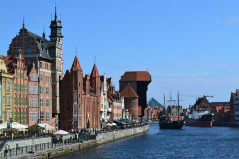 Kajakin Gdansk-kierroksen historia Motława-joella