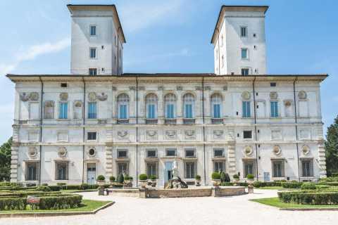 Roma: entrada a la Galería Borghese con asistencia