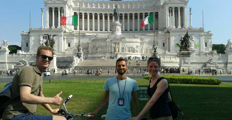 Rome 3-Hour Bike Tour