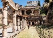 Überspringen Sie die Warteschlange in Herculaneum - Halbtages-Gruppentour