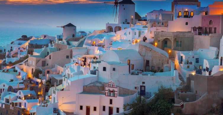 Day Trip to Santorini from Heraklion or Agios Nikolaos