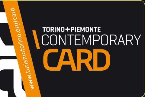 Torino and Piemonte Contemporary Art Card