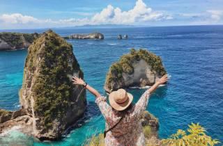 Bali: Tagestour nach Nusa Penida mit dem Schnellboot