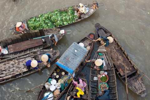 Cai Rang Floating Market and Mekong Delta 2-Day Tour