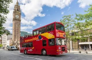 Belfast: 1- oder 2-tägige Hop-On/Hop-Off-Bustour
