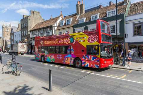 City Sightseeing Cambridge: 24-Hour Hop-on Hop-off Bus Tour