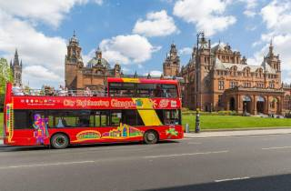 Glasgow: Hop-On/Hop-Off-Sightseeingbustour