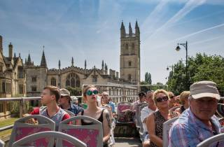 Oxford: Sightseeing-Hop-on/Hop-off-Bustour