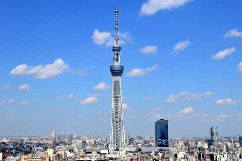 Tokyo Skytree and Bay Cruise 4 Hour Tour
