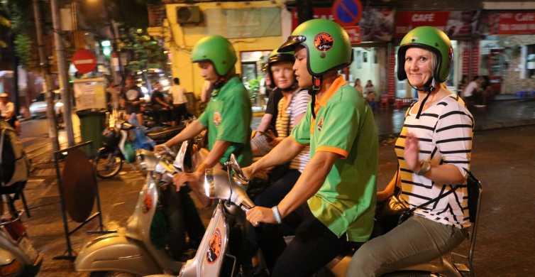 Enjoy Hanoi Like a Local - Vespa & Street Food Tour by Night