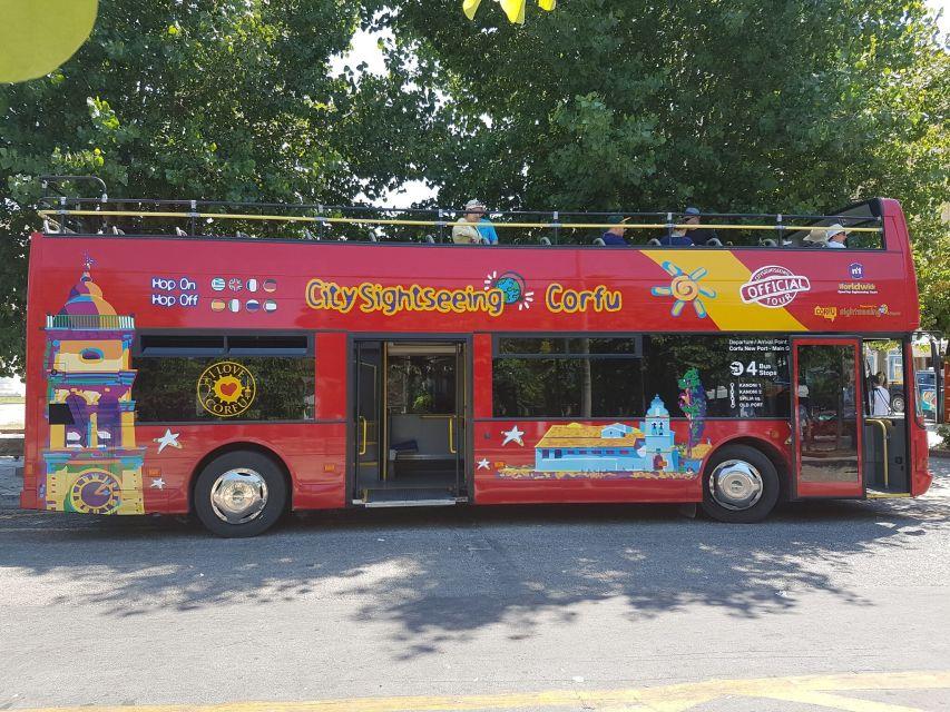 Wycieczka autobusowa Hop-On Hop-Off po Korfu