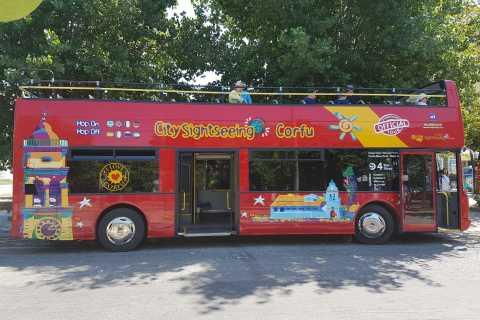 Corfu Hop-on Hop-off City Sightseeing Bus Tour