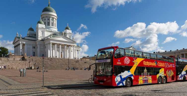 Helsinki City Sightseeing Hop-On Hop-Off Bus Ticket