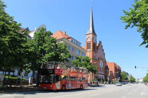 Kiel: 24-timmars hop-on-hop-off-sightseeingbusstur