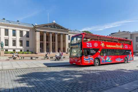 Oslo: Hop-On/Hop-Off-Bus-Tour