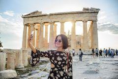 Acrópole: Ingresso e Excursão A Pé Guiada