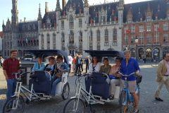 Bruges: Tour Guiado de Riquixá