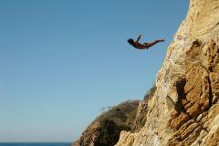 Acapulco: Show de mergulhadores de alto penhasco e transporte de ida e volta