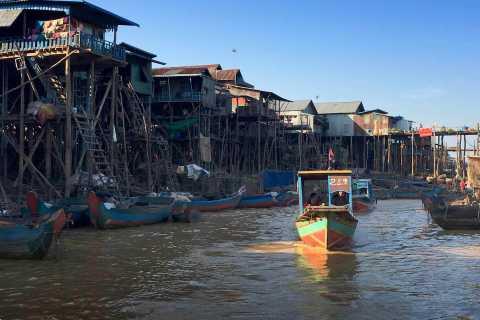 Kompong Phluk and Tonlé Sap Lake: Half-Day Tour