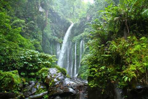 Nord-Lombok: Wasserfall Sendang Gile & Senaru Village Tour