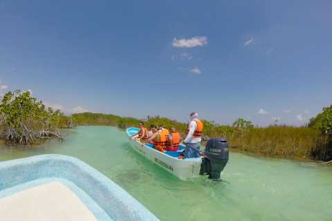 Van Cancun: Private Sian Ka'an Adventure Tour