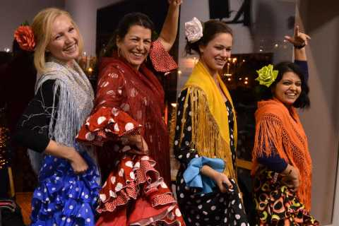 Seville: 1 Hour Flamenco Dance Lesson